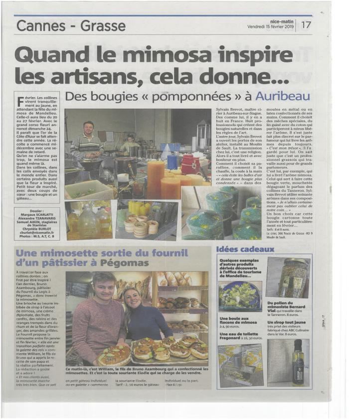 Article presse Nice matin