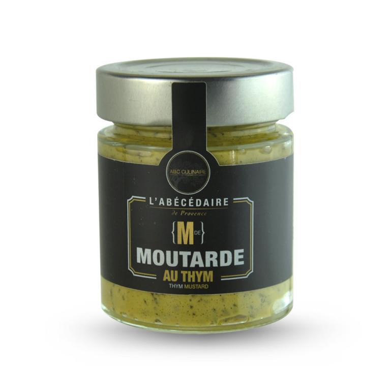 Moutarde au thym