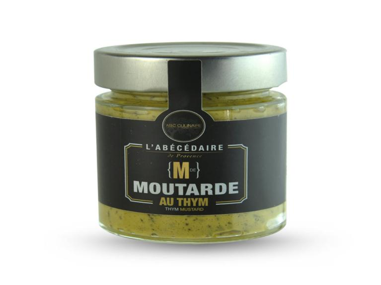 Moutarde aux thym