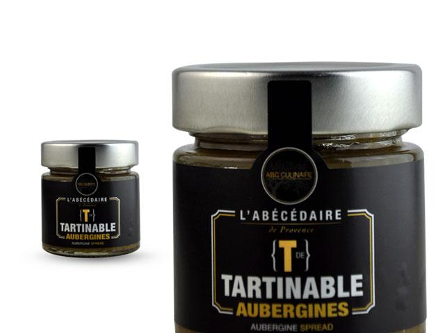 Tartinable aubergines - Epicerie fine en Provence
