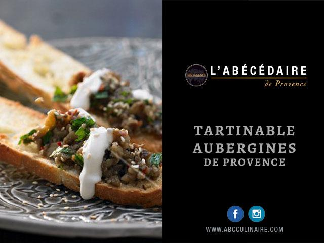 Tartinable aubergines