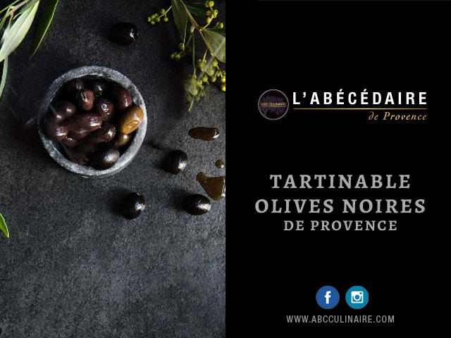 Tartinable olives noires